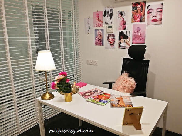 You can also have your private office designed according to your theme