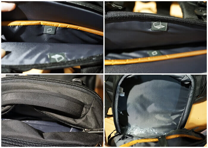 Lowepro Travel+ Backpack Compartments