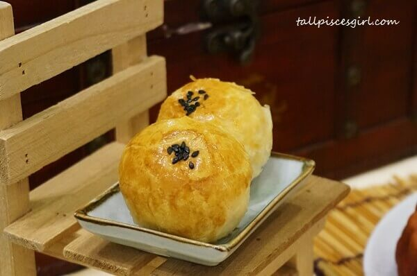 BMS Organics Suzhou Style Mooncake: Red Bean with Tangerine Pastry
