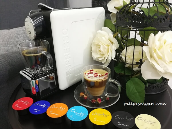 ARISSTO Happy Maker Coffee Capsule Machine