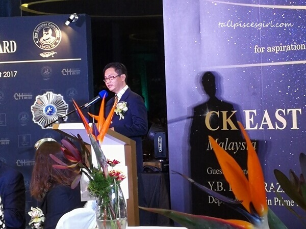 Mr Tan Aik Huat, Director of CK East Construction