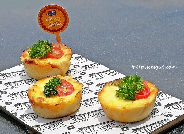 Mini Muffin Pizzas by Anchor Food Professionals