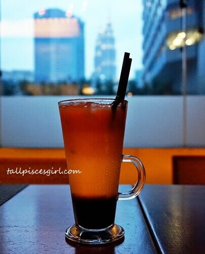 Three Layer Tea @ Makan Kitchen, DoubleTree by Hilton KL