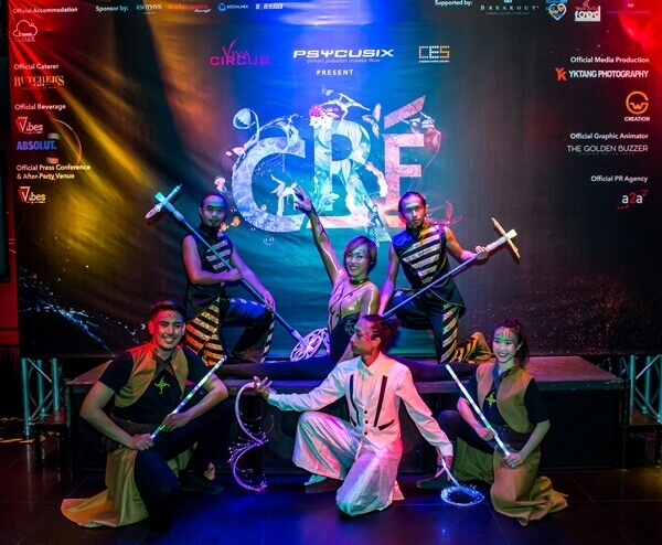 Among the performers for Cré Arts Asia circus happening real soon!