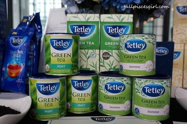 Tetley Green Tea, Green Mint Tea or Jasmine Green Tea for green tea lovers