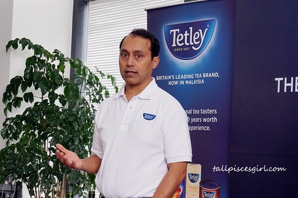 Rajat Kumar, Global Head – Business Development of Tata Global Beverages, which owns the Tetley brand