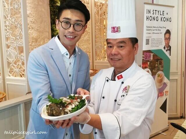 Luk Ho Ming 陸浩明 X Chef Yim Yu King @ Canton-i