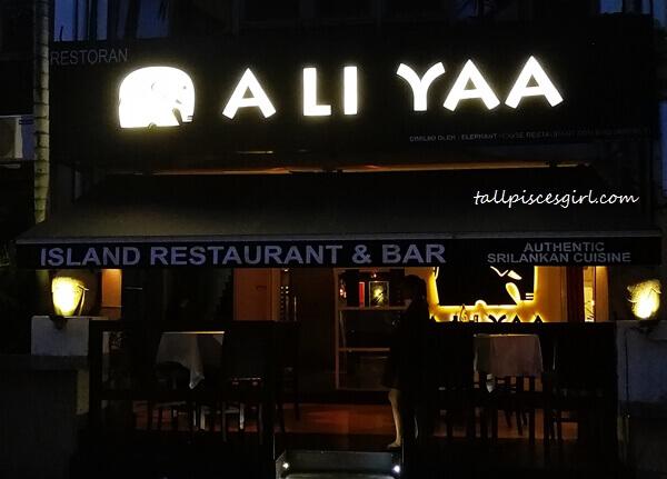 A Li Yaa @ Bukit Damansara for Sri Lankan food