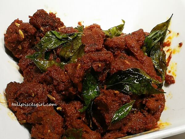 Mutton Paal Poriyal (Price: RM 37)