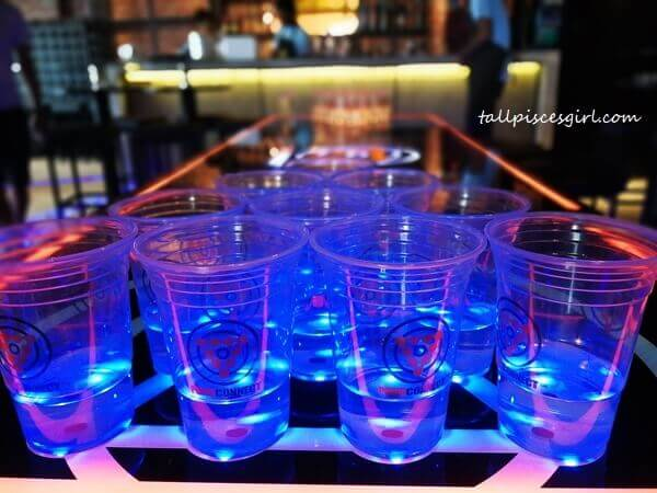 If eating and drinking is not enough, head inside for a game of Beer Pong!