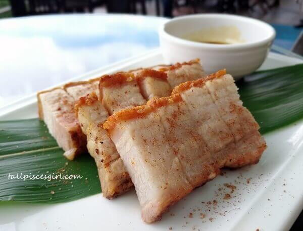 Creme Brulee Roasted Pork