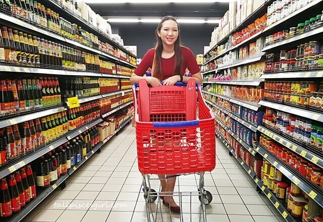 Charmaine Shopping for Groceries