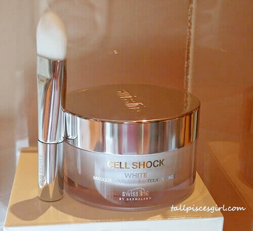 Cell Shock White Facial Brightening Mask