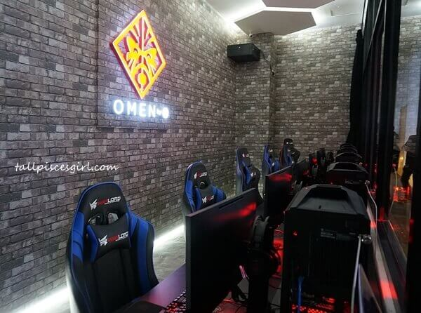 Omen by HP experiential room