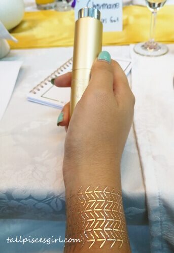 Gold tattoo X Limited Edition Gold Primer Mist