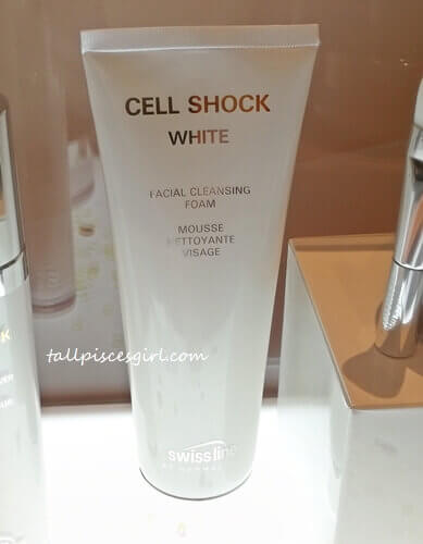 Cell Shock White Facial Cleansing Foam