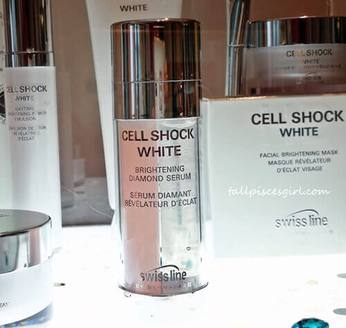 Cell Shock White Brightening Diamond Serum