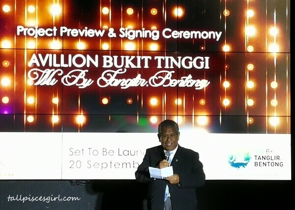 Tan Sri Dato Sri Samsudin Hitam, Chairman of Avillion Hotel Group
