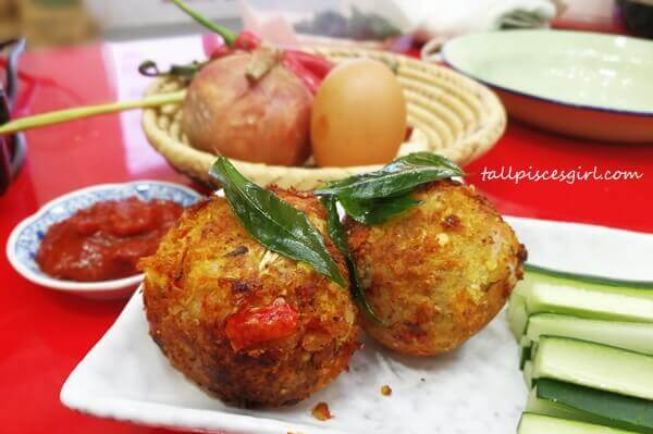 Just like chicken rice balls, this is Nasi Lemak Balls by Chef Ili Sulaiman of Dish by Ili