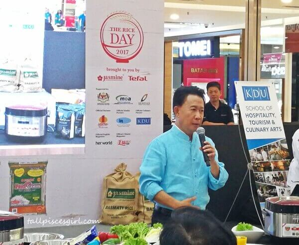 Chef Martin Yan @ The Rice Day launch by Jasmine & Tefal