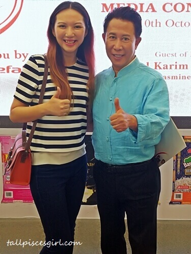 A pleasure to meet Chef Martin Yan again after so long!