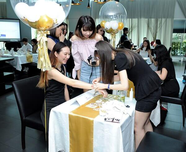 The Face Inc Gold Primer Mist Launch with Charmaine and Bowie