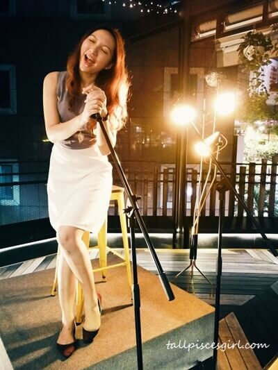 Charmaine also performing at KL Journal Hotel?