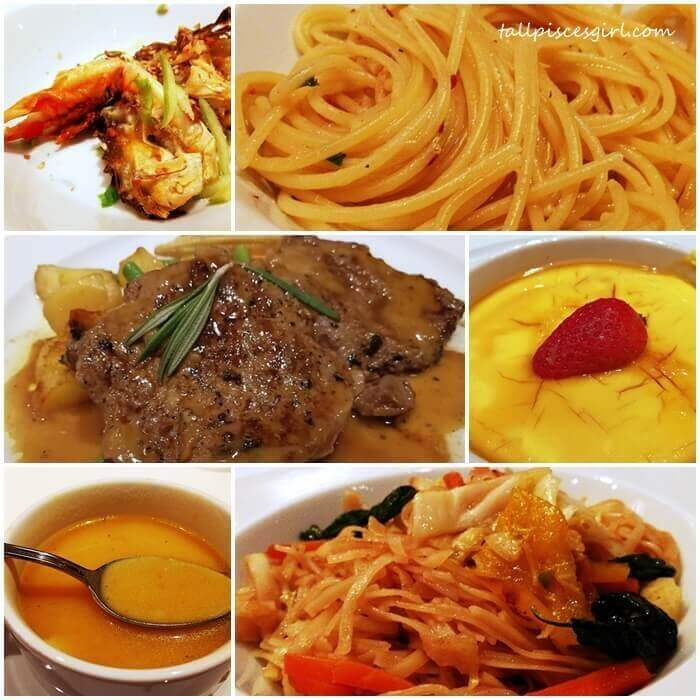 Our scrumptious a la carte food during Gala Dinner Night