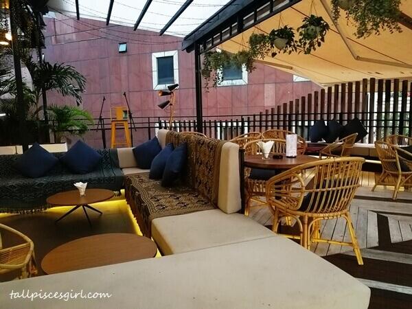 Open bar concept @ The Terrace Bar & Grill