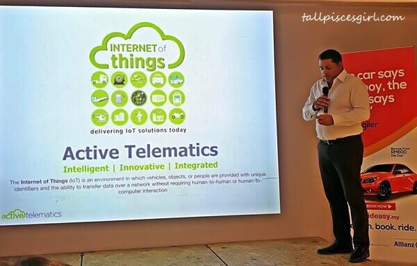 Omar Hatmi, Managing Director of Active Telematics