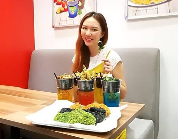 Charmaine X Golden Bons - Golden Bons Taiwan Finger Food @ Sunway Velocity