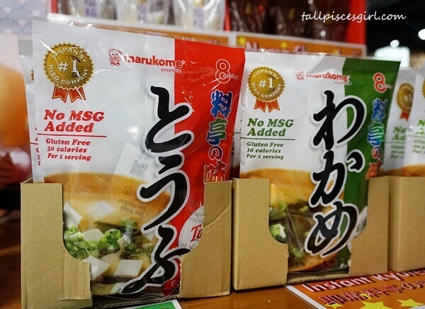 Instant Miso Soup and Miso Paste
