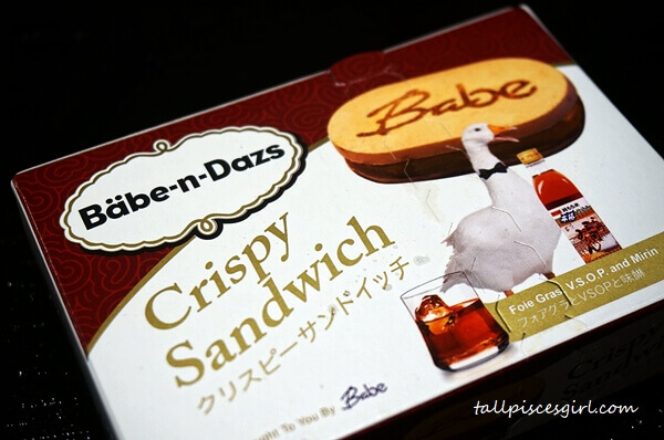Unique packaging for Babe-n-Dazs
