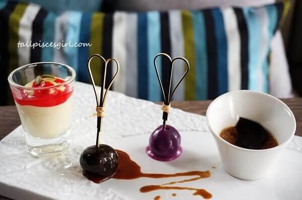 Dessert: Trio of delights