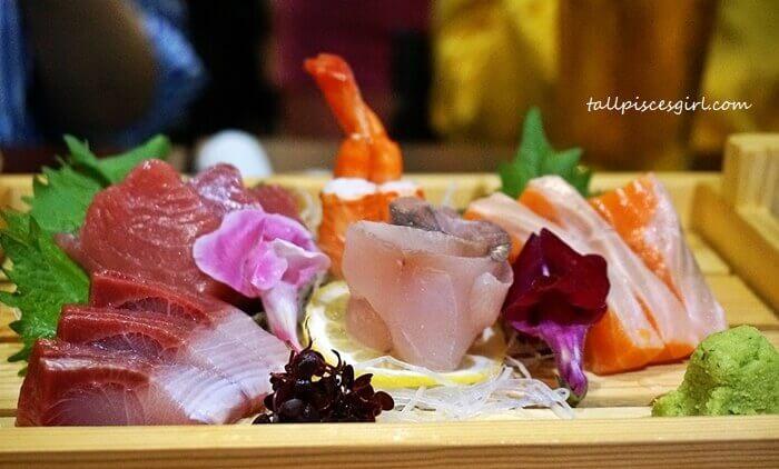 Sashimi Platter @ Makoto Japanese Cuisine (Price: RM 138)
