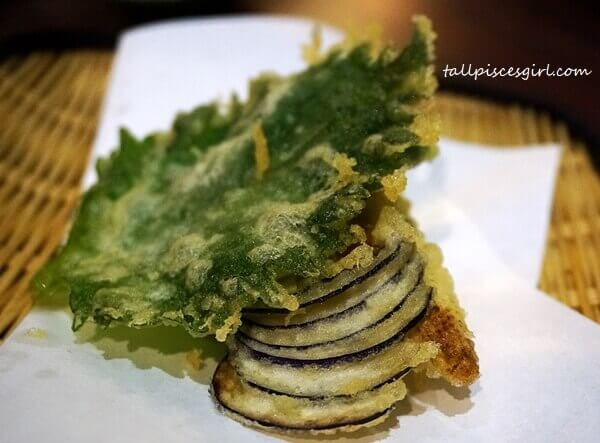 Vegetable Tempura Moriawase (Price: RM 17)