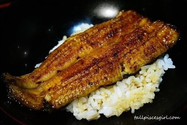 Unaju @ Makoto Japanese Cuisine (Price: RM 100)