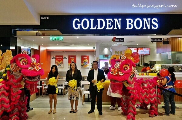 Ribbon Cutting Ceremony @ Golden Bons, Sunway Velocity