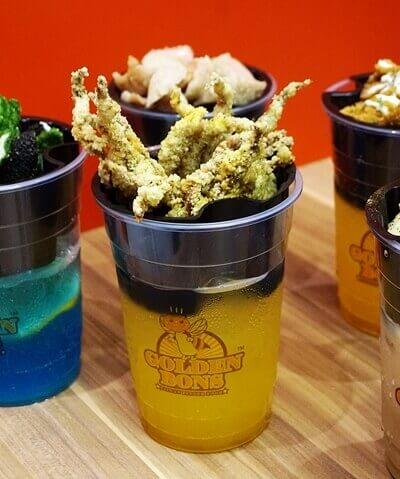 Sip & Snack: Fried Squid