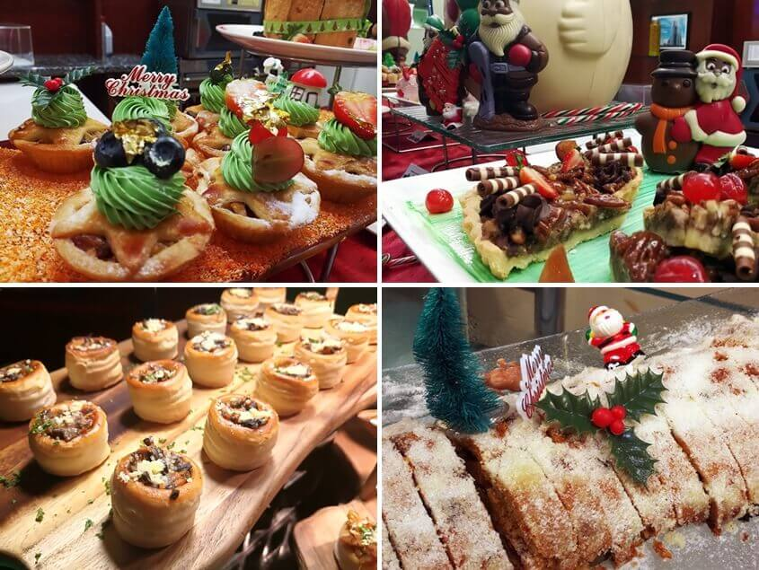 Desserts @ Christmas Buffet 2017, Berjaya Times Square Hotel