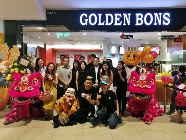 Thank you for having us, Golden Bons Sunway Velocity!