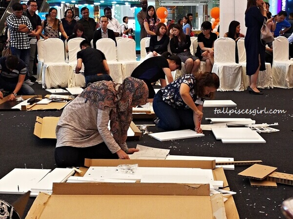 Guardian Win a Home Makeover Contest 2017 - Furniture Assembly