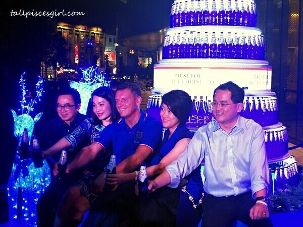 L-R Chew Hoy Ping, Felicia Teh, Lars Lehmann, Pearl Lai & Charles Wong