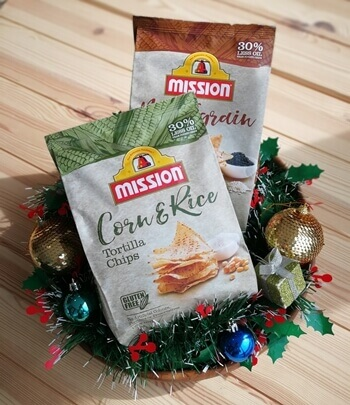Mission Multigrain and Mission Corn and Rice Chips