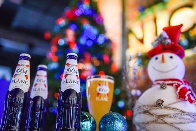 Kronenbourg 1664 Pause for a Blue Christmas