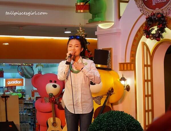 Singing Performance by Crystal Lee