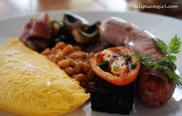 A closer look at the black pudding