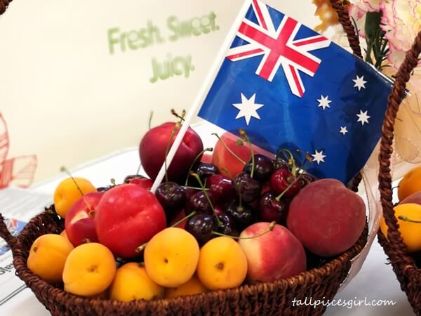 Australian Cherries, peaches, apricots, nectarines and plums