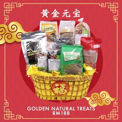 Golden Natural Treats Hamper