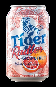 Tiger Radler Grapefruit Can